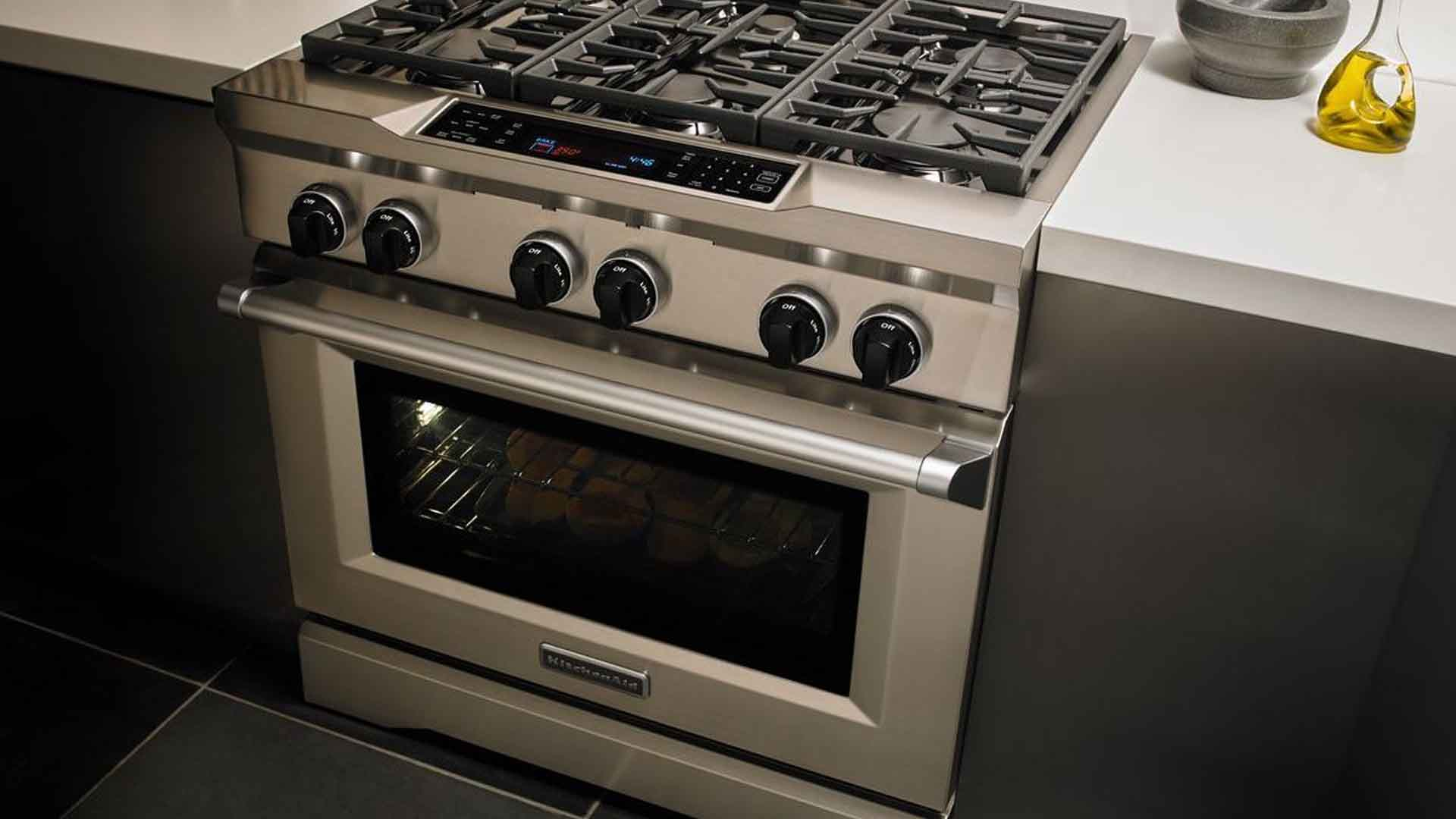 Kitchenaid Commercial Style Dual Fuel Range Repair